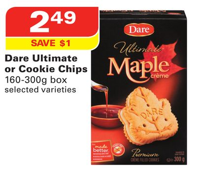 Dare Ultimate or Cookie Chips