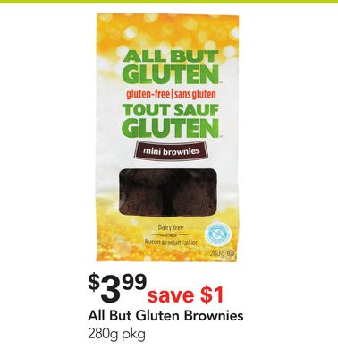 All But Gluten Brownies