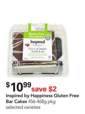 Inspired By Happiness Gluten Free Bar Cakes