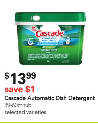 Cascade Automatic Dish Detergent