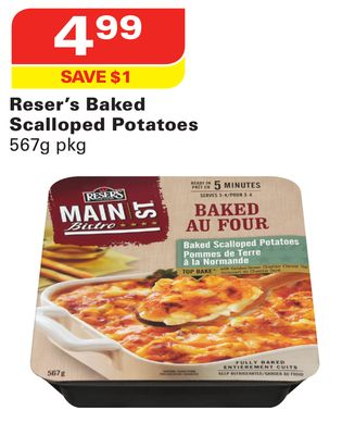 Reser's Baked Scalloped Potatoes