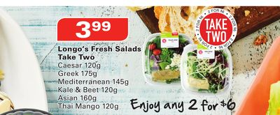Longo's Fresh Salads Take Two