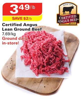Certified Angus Lean Ground Beef