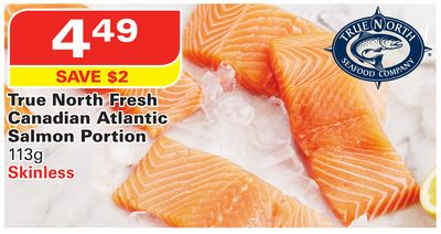 True North Fresh Canadian Atlantic Salmon Portion