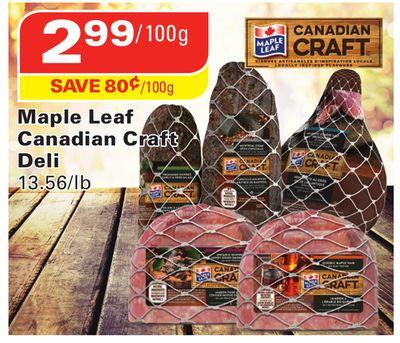 Maple Leaf Canadian Craft Deli