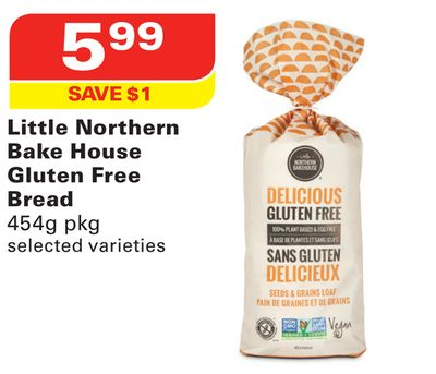 Little Northern Bake House Gluten Free Bread