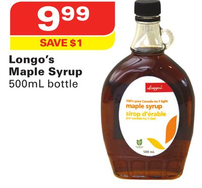 Longo's Maple Syrup