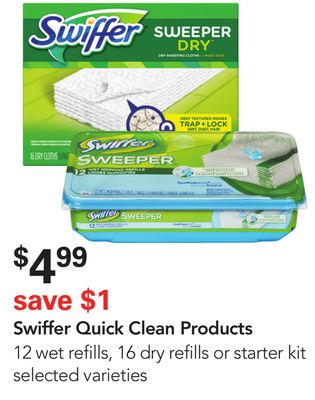 Swiffer Quick Clean Products