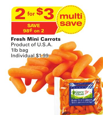 Green Giant Fresh Mini Carrots