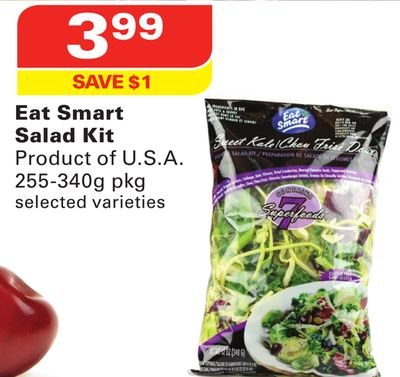 Eat Smart Salad Kit