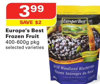 Europe's Best Frozen Fruit