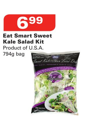 Eat Smart Sweet Kale Salad Kit