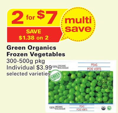 Green Organics Frozen Vegetables