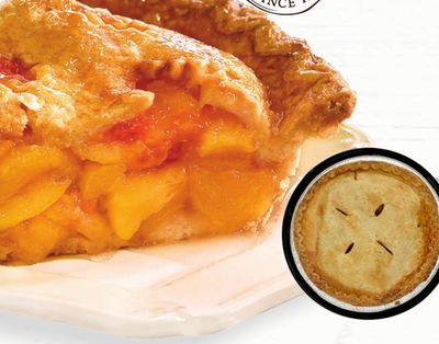 Longo's Signature Peach Pie