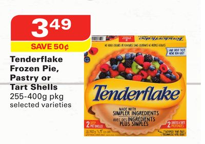 Tenderflake Frozen Pie - Pastry or Tart Shells