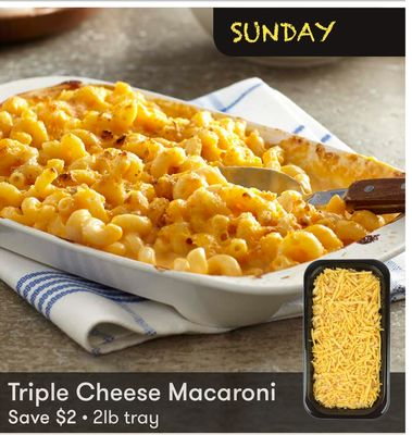 Triple Cheese Macaroni