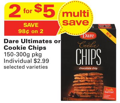 Dare Ultimates or Cookie Chips