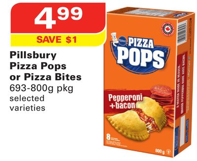 Pillsbury Pizza Pops or Pizza Bites