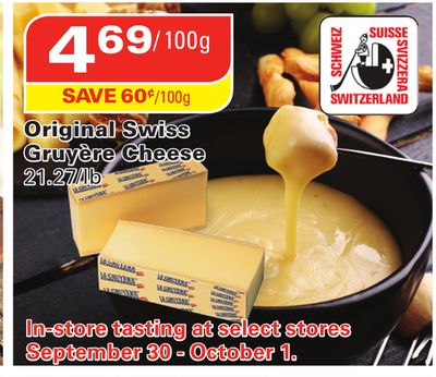 Original Swiss Gruyère Cheese
