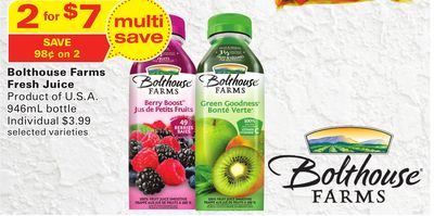 Bolthouse Farms Fresh Juice