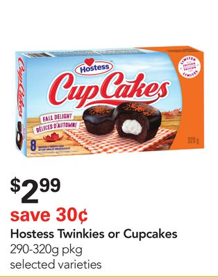 Hostess Twinkies or Cupcakes