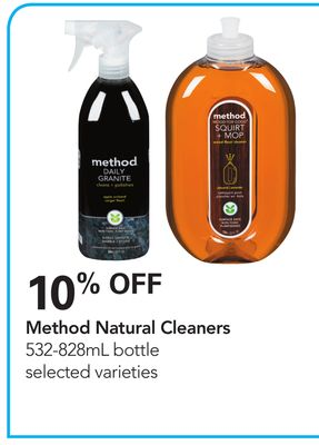 Method Natural Cleaners