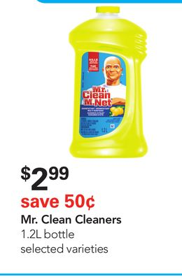 Mr. Clean Cleaners