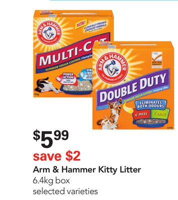 Arm & Hammer Kitty Litter