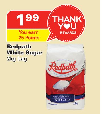 Redpath White Sugar