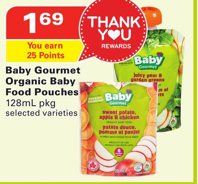 Baby Gourmet Organic Baby Food Pouches