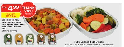 Fully Cooked Side Dishes