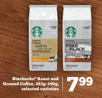Starbucks Roast and Ground Coffee