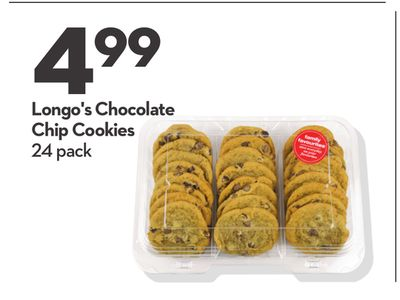 Longo's Chocolate Chip Cookies