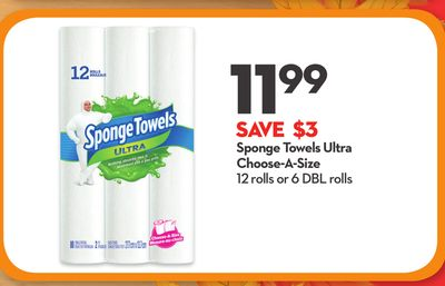Sponge Towels Ultra Choose-a-size