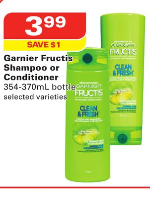 Garnier Fructis Shampoo or Conditioner