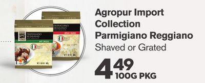Agropur Import Collection Parmigiano Reggiano