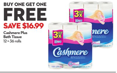 Cashmere Plus Bath Tissue
