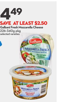 Galbani Fresh Mozzarella Cheese