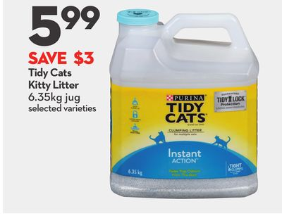 Tidy Cats Kitty Litter