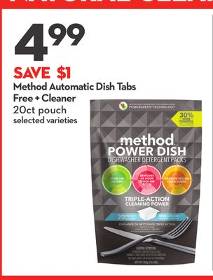 Method Automatic Dish Tabs Free + Cleaner
