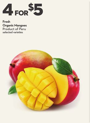 Fresh Organic Mangoes