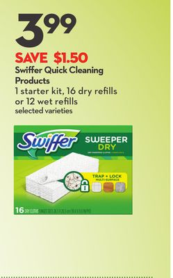Swiffer Quick Cleaning Products