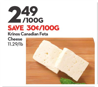 Krinos Canadian Feta Cheese