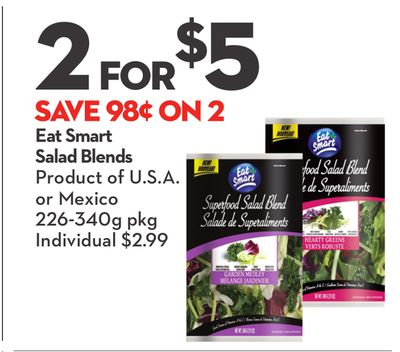 Eat Smart Salad Blends