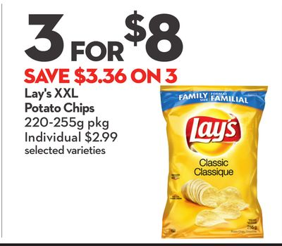 Lay's Xxl Potato Chips