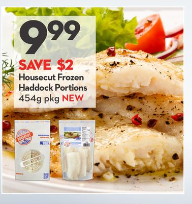 Housecut Frozen Haddock Portions