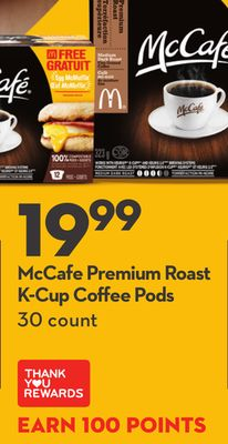 Mccafe Premium Roast K-cup Coffee Pods