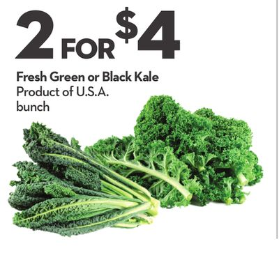 Fresh Green or Black Kale