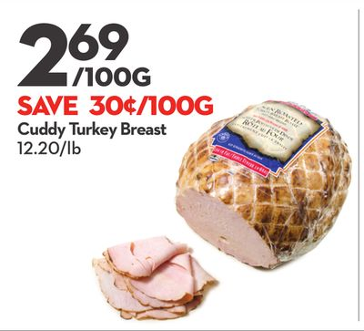 Cuddy Turkey Breast