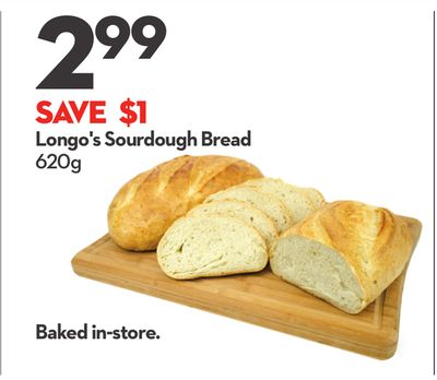 Longo's Sourdough Bread